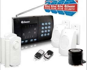 Sistema de Alarma SWANN auto-instalable inalámbrico