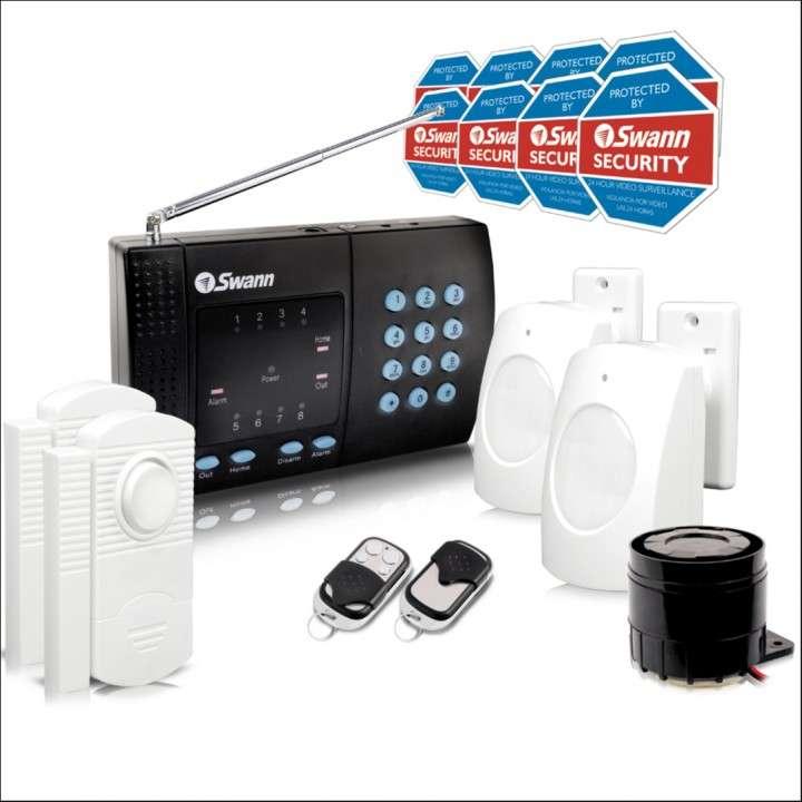 Sistema de Alarma SWANN auto-instalable inalámbrico - 0
