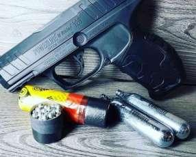 Pistola de aire comprimido a gas co2