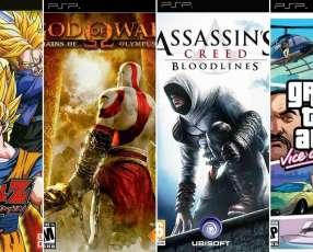 Carga de Juegos PSP
