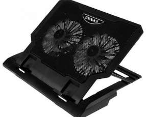 Cooler doble ventilador para notebook