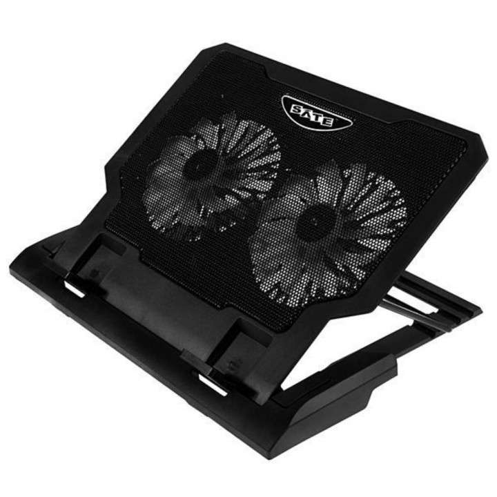 Cooler doble ventilador para notebook - 0