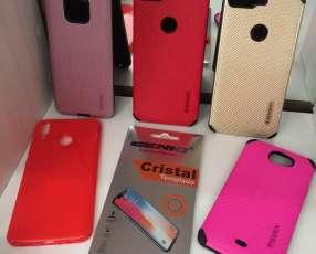 Protector celular y Glass
