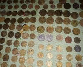 Monedas paraguayas y españolas antigüas