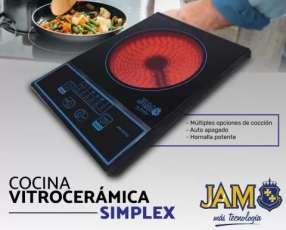 Placa Jam 1 hornalla vitrocerámica simplex 2000vc