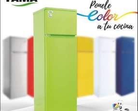 Heladera Fama Colors 2 puertas frío húmedo