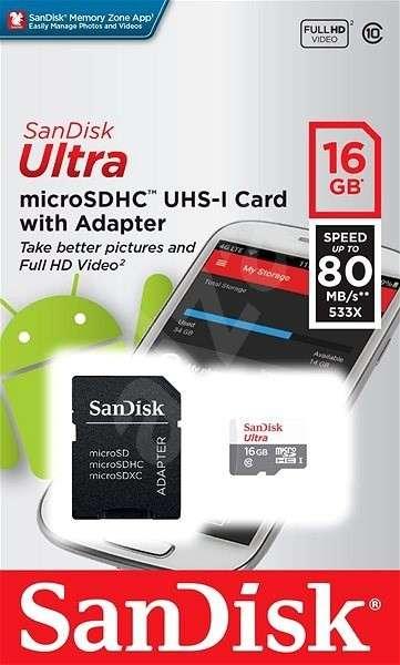 Memory SanDisk 16 GB Ultra