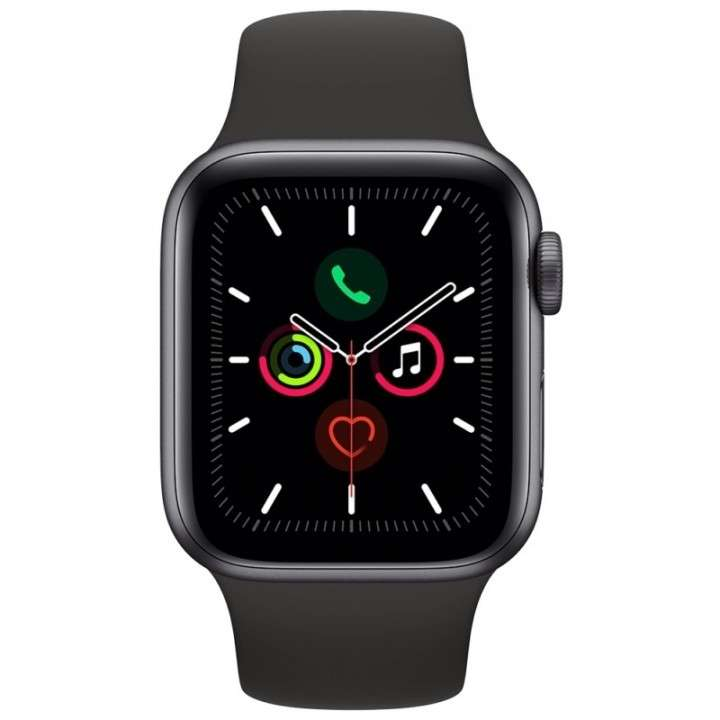 Apple Watch S5 (GPS) caja aluminio space gray 40mm pulsera D - 1
