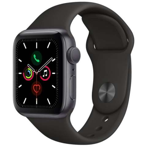 Apple Watch S5 (GPS) caja aluminio space gray 40mm pulsera D