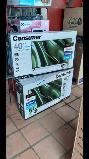 Tv Led smart Consumer de 40 pulgadas