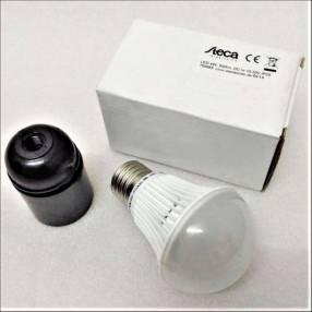 Steca lámpara led de 4W con base