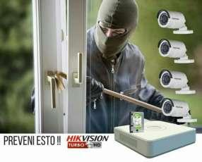 Kit de cámaras de seguridad instaladas