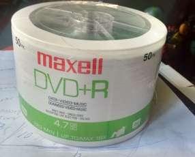 Tubo DVD-R Maxel x 50 unidades