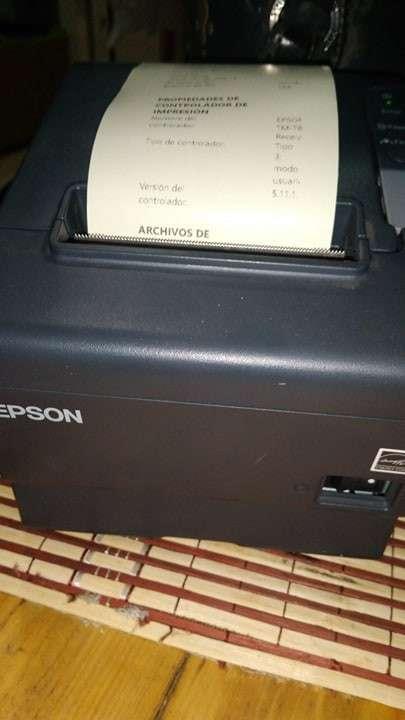 Impresora Térmica TMU TM-T88V - 0