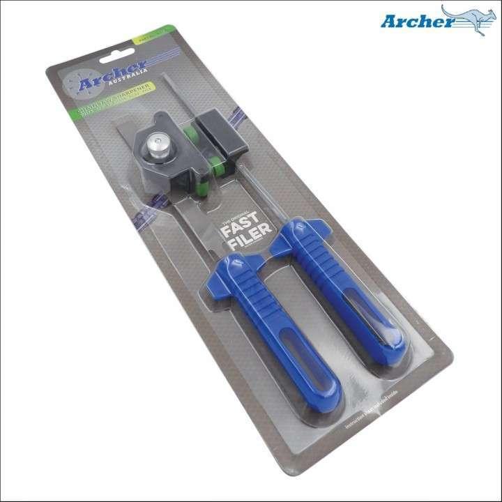 Afilador rápido medida 5/32 para cadena 3/8 picco verde - 0