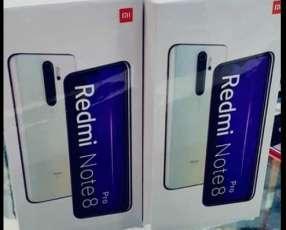 Redmi note 8 pro de 64 y de 128 gb nuevo en caja mas protector antishok