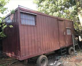 Trailer container oficina
