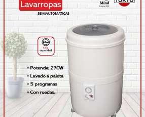 Lavarropas tokyo facilita 55r 5kg 270w panel control latera
