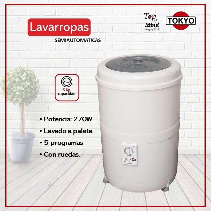 Lavarropas tokyo facilita 55r 5kg 270w panel control latera - 0