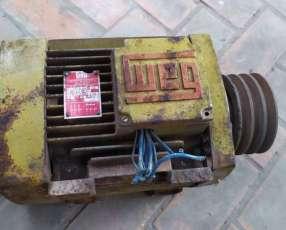 Motor eléctrico trifásico WEG de 7,5 HP
