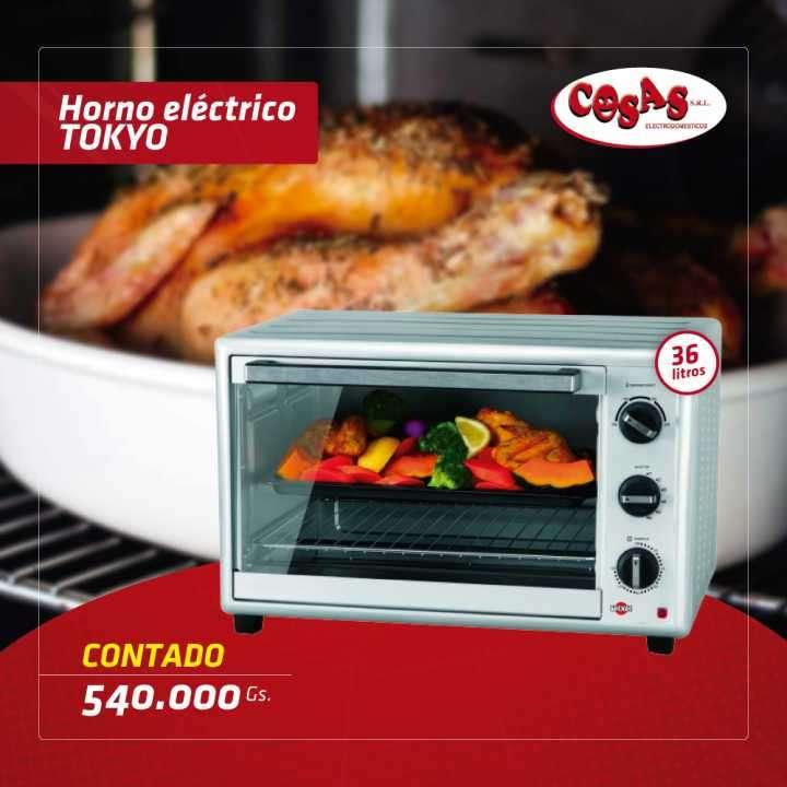 Horno Electrico Tokyo 36 lts - 0