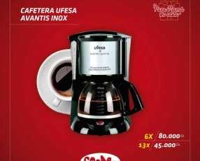 Cafetera Ufesa Avantis inox