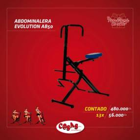 Abdominalera Evolution AB50