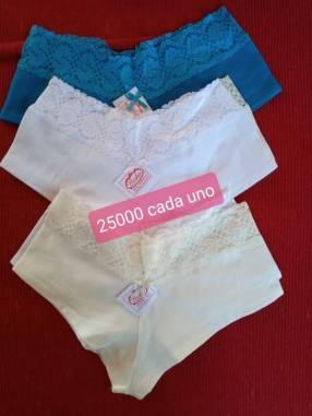 Culottes Beika de algodón con encajes
