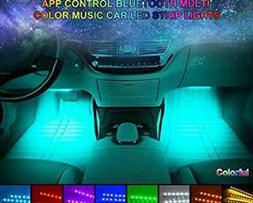 Kit de luces led rgb para auto