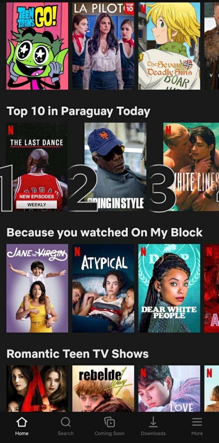 Netflix 4k mensual anual - 0