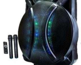 Parlante karaoke MegaStar 18 pulgadas
