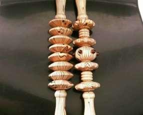 Masajeador de madera Shiatsu