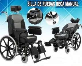 Silla de ruedas tipo asiento de vehículo Reca