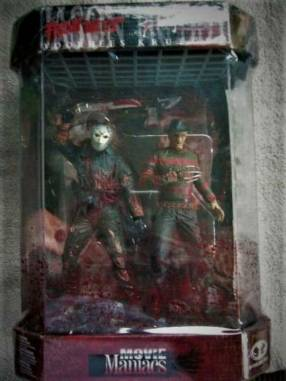 McFarlane - Movie Maniacs - Freddy Krueger - Jason Voorhees