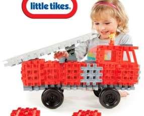Camión de Bomberos de Bloques Waffle de Little Tikes