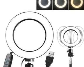 ARO LED 26cm Con soporte de celular