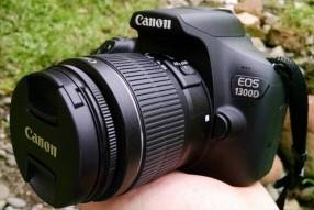 Cámara fotográfica Canon EOS 1300D