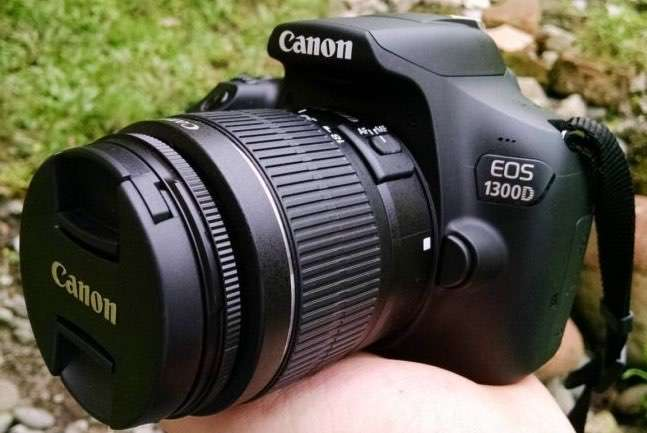 Cámara fotográfica Canon EOS 1300D - 0