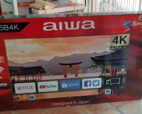 Smart tv led full UHD 4k Aiwa 65 pulgadas
