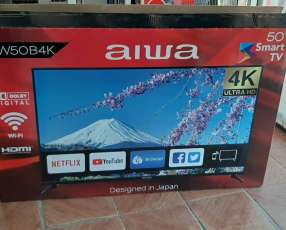 Smart tv led Aiwa full UHD 4k de 50 pulgadas
