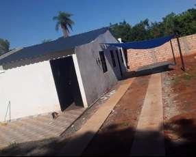 Terreno con casa en Itauguá km 26