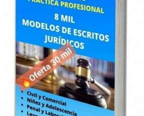8.000 escritos jurídicos civil y comercial