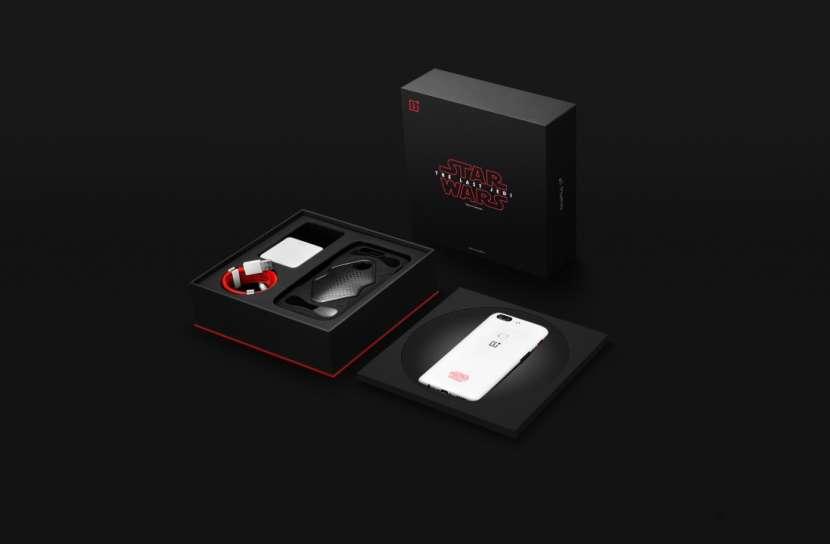 Celular OnePlus 5T Star Wars Limited Edition - 1