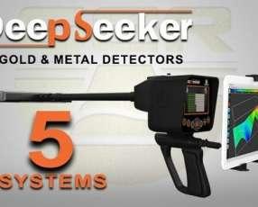Detector de Oro GER DeepSeeker alemán 3D Scanner 40 metros