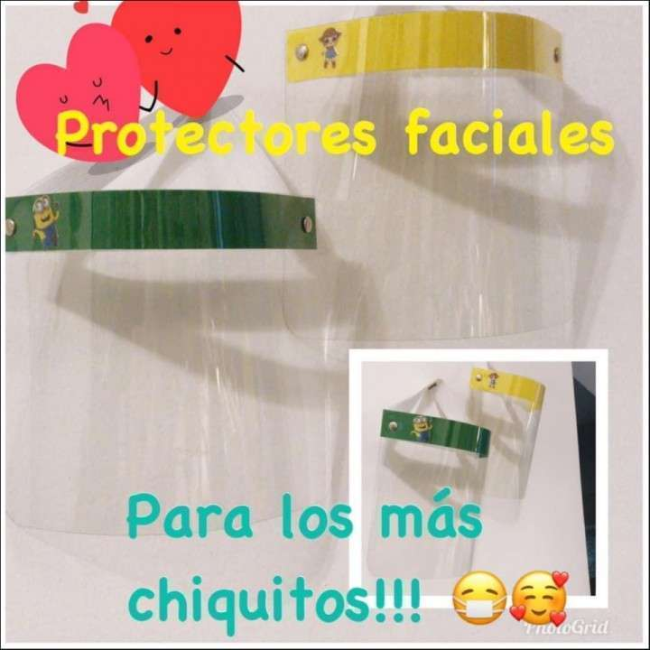 Protectores faciales - 2