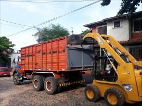 Camiones por mes o carga