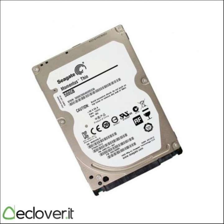 Disco para notebook 500gb seagate - 0