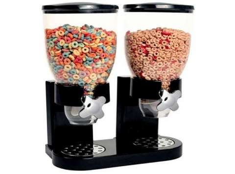 Dispenser de cereales doble