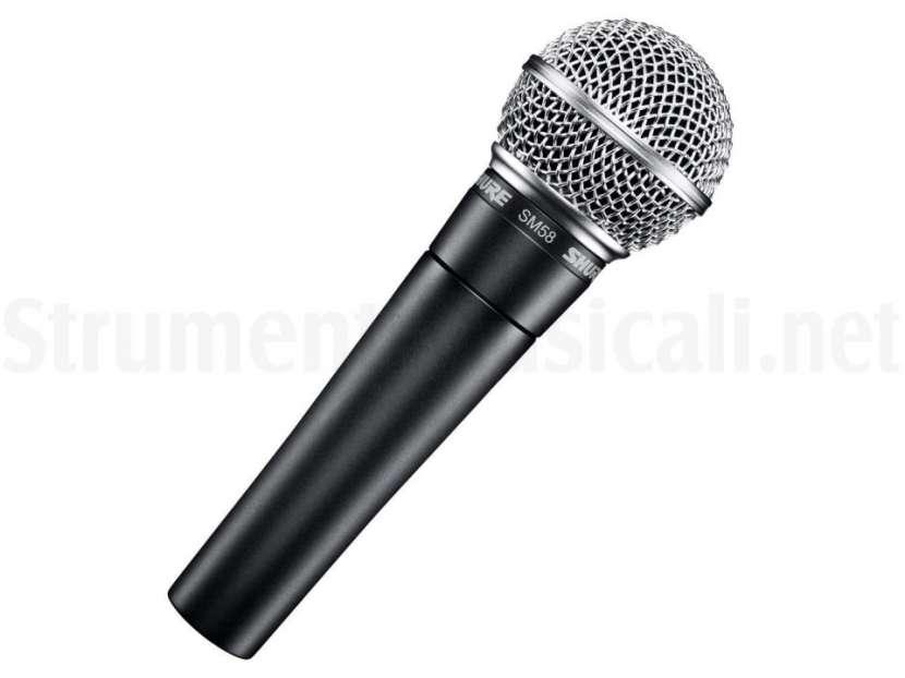 Microfono shure sm58 cardiod dinamic - 0