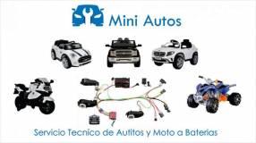 Servicio técnico autitos a bateria